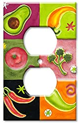 Art Plates - Salsa Switch Plate - Outlet Cover