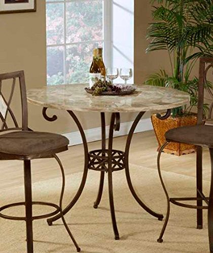 Hillsdale Brookside Fossilstone Counter Height Table