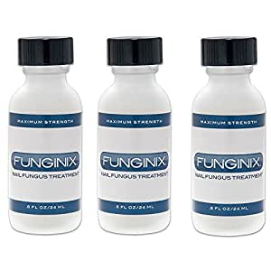 Funginix Nail Fungus Treatment, Set of 3