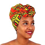 FANS FACE Traditional African Headwrap Headtie Nigerian Scarf Headwear Lots Colors Available