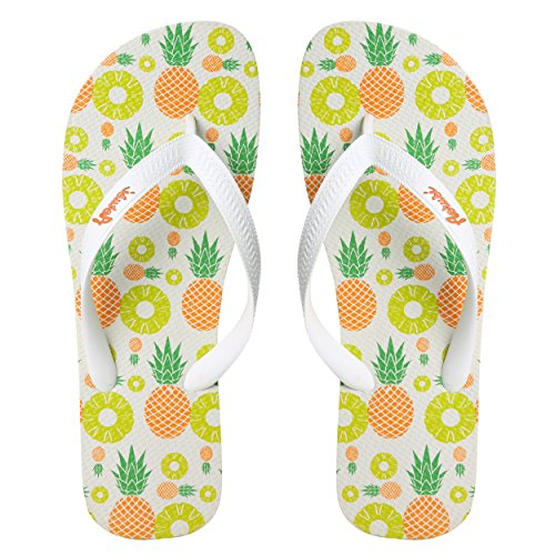 Aerusi Unik Leken Utforming Kvinners Flip Flop Sandaler Tropiske