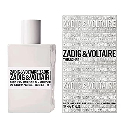 Zadig & Voltaire - Women's Perfume This Is Her! Zadig & Voltaire EDP 3423474891856 53609