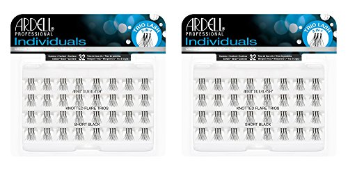 Set of 3 Ardell Duralash Short Black Knotted Flare Trio Lashes Ardell Duralash Lashes Flare