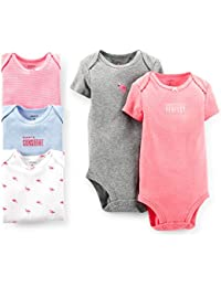 Carter's 5 Pack Bodysuits (Baby) - Assorted-NB
