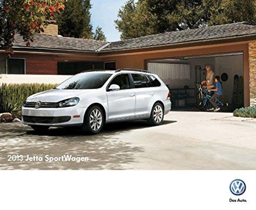 Volkswagen Jetta Catalog - 2013 Volkswagen Jetta Sportwagen 20-page Sales Brochure Catalog - VW car