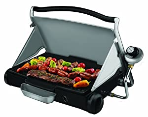 12. George Foreman GP200 George 2Go Portable Propane Grill and Griddle