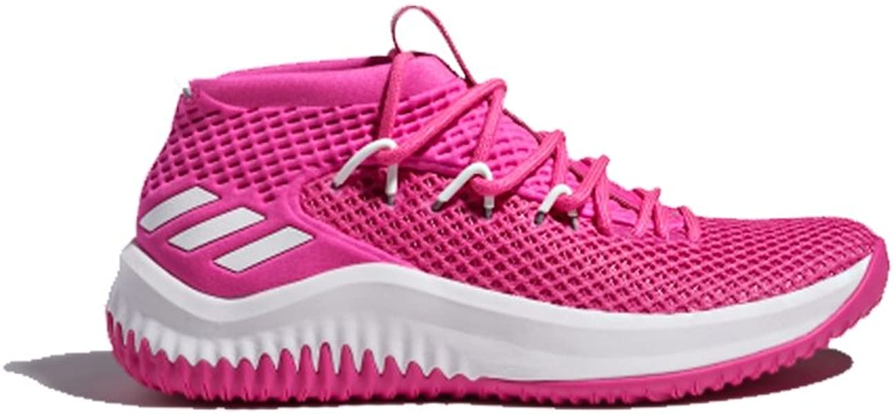 fc5dbcda1f60 adidas SM Dame 4 NBA NCAA BC Shoe Men s Basketball Pink