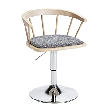 Bar Chairs Inventive Solid Wood Bar Chair High Stool Swivel Bar Chair Stylish Simple Windsor Chair Home Lift Chair.