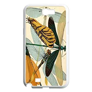Beautiful Dragonfly DIY Cover Case for Samsung Galaxy Note 2 N7100,personalized phone case ygtg-309114