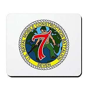 CafePress - USNMCB 7 - Non-Slip Rubber Mousepad, Gaming Mouse Pad from CafePress