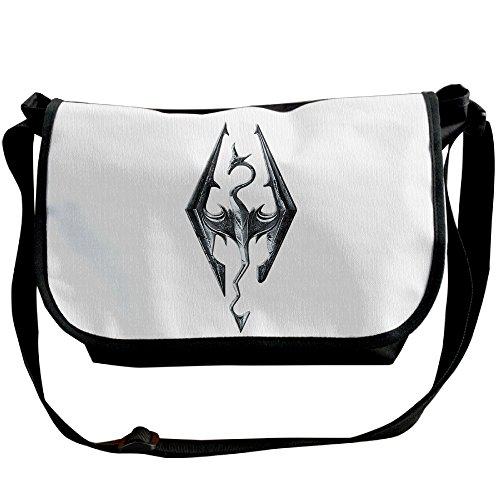 F1&Cany The Eld Scrolls V Skyrim Handbag Cross Body Bag Messenger Sling Bag Shoulder Bags