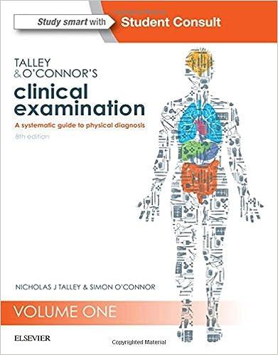 Talley O Connor Clinical Examination Pdf