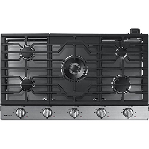 Price comparison product image Samsung NA36K6550TS / NA36K6550TS / AA / NA36K6550TS / AA 36 Stainless 5 Burner Gas Cooktop
