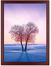 Diamond Painting Picture Frames 10x14, for 12 x 16 in /30 x 40cm 5D Diamond Painting Art Kits Diamond Painting Pictures or Photos,Natural Solid Wood Wall Hanging Picture Frame