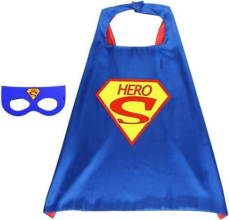BUY-TO Superhero Cape Super Hero Disfraz de Cosplay para niños ...