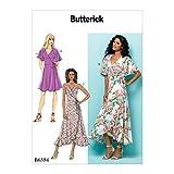 Butterick Patterns Misses' Wrap Dresses, A5