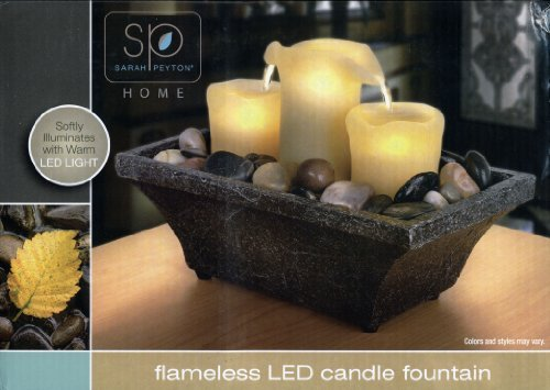 Sarah Peyton Home, Flameless LED Candle Fountain