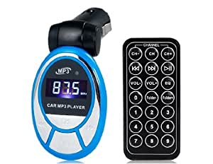 SG-S012 Reproductor MP3 con lector de tarjetas TF (azul)