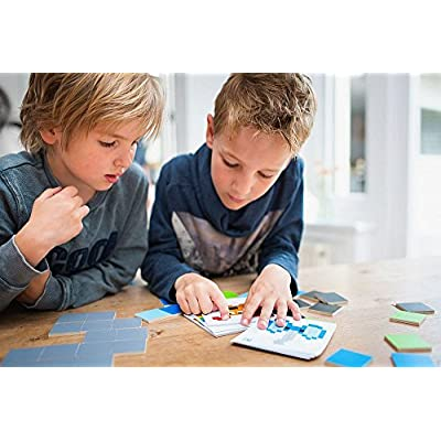BuitenSpeel Toys GA292 Pixel Art Wooden Design Activity, Multicolor: Toys & Games