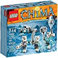 LEGO Legends Of Chima - Playthèmes - 70230 - Jeu De Construction - La Tribu Ours Des Glaces