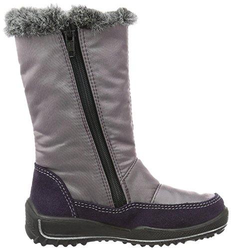 Ricosta Reni Mädchen Warm Gefütterte Schneestiefel Violett (blackberry/purple 382)