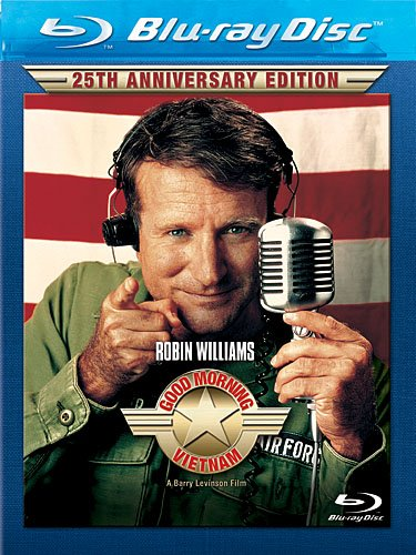 Good Morning, Vietnam: 25th Anniversary Edition [Blu-ray] Robin Williams Forest Whitaker Touchstone Home Entertainment 24141373