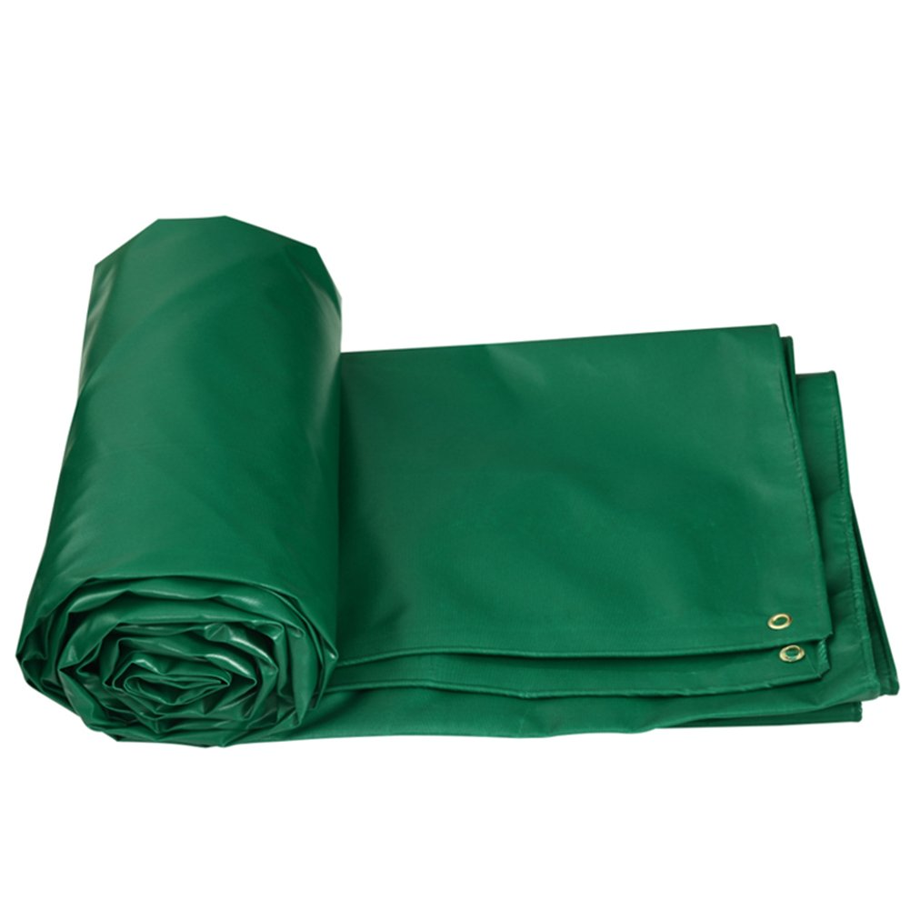 LIXIONG オーニングサンシェード厚い 防水性の雨布 サンバイザー オイルクロス トラックキャノピー布 厚さ0.5mm、 5色、 10サイズ ( 色 : 緑 , サイズ さいず : 4x5m ) B07C226WC6 4x5m|緑 緑 4x5m