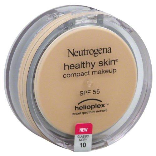 Neutrogena peau saine Compact Makeup SPF 55 avec Helioplex, Classic Ivoire 10, 0,35 once