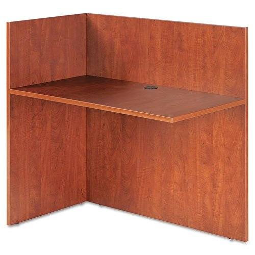 Aleraamp;reg; - Valencia Reversible Reception Return, 44w x 23-5/8d x 41-1/2h, Medium Cherry - Sold As 1 Each - Combine with Reception Desk to create an L-shaped workstation for transacting business or welcoming guests.