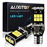 AUXITO 912 921 LED Backup Light Bulbs High Power 2835 15-SMD Chipsets 1600 Lumens Extremely Bright Error Free T15 906 W16W for Back Up Lights Reverse Lights, 6000K White (Upgraded,Pack of 2)