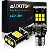 AUXITO 912 921 LED Backup Light Bulbs High Power 2835 15-SMD Chipsets Extremely Bright Error Free T15 906 W16W for Back Up Lights Reverse Lights, 6000K White (Upgraded,Pack of 2)
