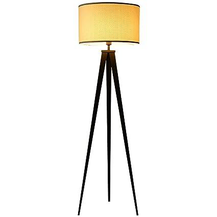 MJMYDT LYX® Lámpara de pie de Tres Patas, Dormitorio: Amazon ...
