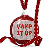 Christmas Decoration Vamp It Up Halloween Bloody Wall Ornament