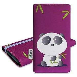 Stilbag Funda 'MIKA' para Huawei P8lite - Diseño: Bamboo Panda