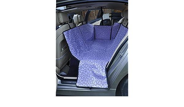 Xinjiener Universal Ajustable de Doble Capa a Prueba de Agua para Mascotas Dog Cat Bed Bed Cubierta de Asiento Mat para Todo Tipo de vehículos Viajes Hamaca ...