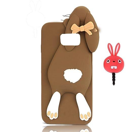 3 opinioni per Samsung G925 Galaxy S6 Edge Case Cover, Vandot [ 3D Arco Papa Coniglio ]