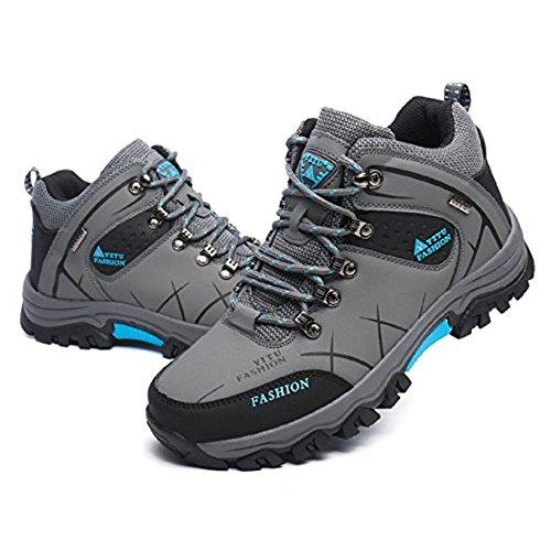 Showlovein Herren Trekking Wanderschuhe Outdoor Wasserdicht Gleitsicher Stiefel Herren Sneaker gC9k2nn