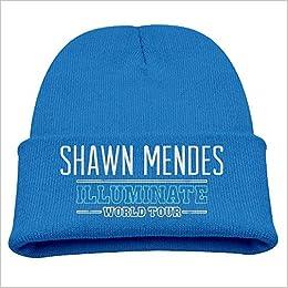 Amazon.com  Shawn Mendes Illuminate World Tour Kids Winter Knit Beanie Hat  (6311841006873)  Books 9408fb9ffd8
