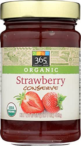 365 Everyday Value, Organic Strawberry Conserve, 17 oz