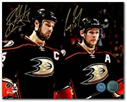 Ryan Getzlaf & Corey Perry Anaheim Ducks Dual Signed Franchise Stars 8x10 P