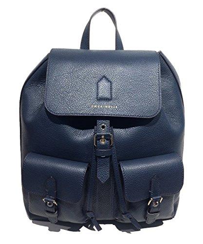 Coccinelle - Bolso mochila  de Piel para mujer azul turquesa