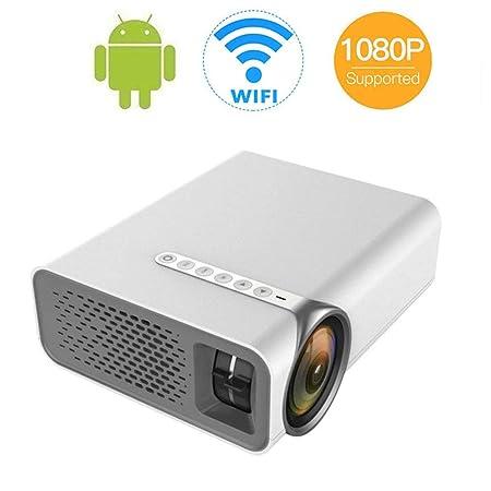 DAETNG Proyector Mini portátil HDMI 1080P con Soporte ...