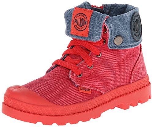Palladium Baggy Zipper Boot , Cayenne Red/Orion Blue, 10.5 M