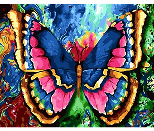 Jigsaw Puzzles 1000 Piece Wooden Puzzle DIY Animal Butterfly Home Game Toy Home Decoration Art ()