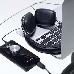 Apogee ONE with Apple MacBook Pro & Headphones