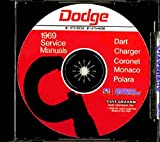 1969 Dodge CD Repair Shop Manual for Charger/Dart/Polara/Monaco/Coronet 69