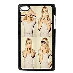 iPod Touch 4 Case Black Beautiful Emma Stone SP4278328