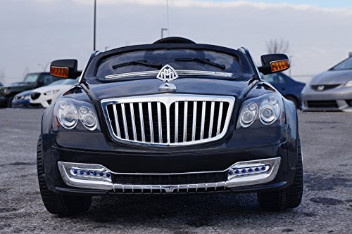 ELECTRIC CAR for kids. Maybach style. RIDE on CAR for kids with remote control to drive. MP3. Battery operated, 12V total. 2-7 years. Opening Doors - Maybach 2