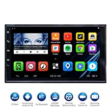 """ATOTO 7""""HD Touchscreen 2Din Android Car Navigation Stereo - Quadcore Car Entertainment Multimedia w/ FM/RDS Radio,WIFI,BT,Mirror Link,and more(No DVD Player)M4272 (173*97/32G)"""