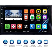 ATOTO 7HD Touchscreen 2Din Android Car Navigation Stereo - Quadcore Car Entertainment Multimedia w/ FM/RDS Radio,WIFI,BT,Mirror Link,and more(No DVD Player)M4272 (17397/32G)